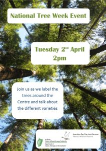 National Tree Week Event 2019 Poster
