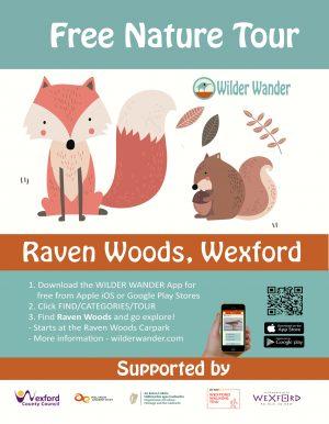 Raven Woods Nature Tour Poster
